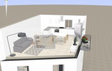 Grimaud - Belle maison de village en cours de rénovation - livraison printemps 2018