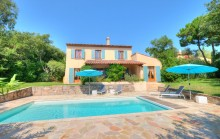 Pretty provencal villa located in a quiet and secure area - For sale in Gassin