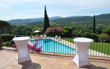 Villa with pool nestled in the hills - For sale in La Mole
